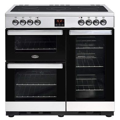 Electric Range Cooker In Steel With LED