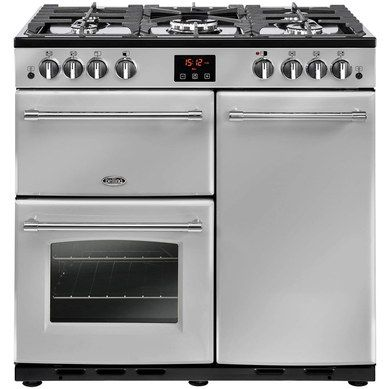 Silver Finish 90cm Gas Range Cooker