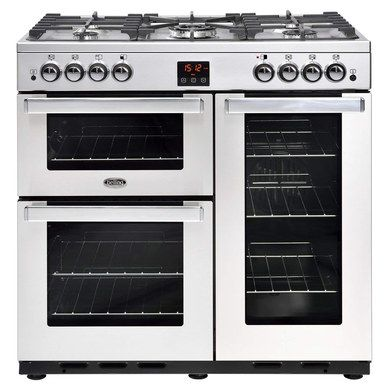 Polished Steel All Gas Range Cooker