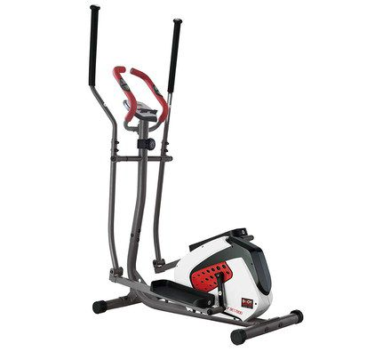 Magnetic Elliptical Bike In Red And White