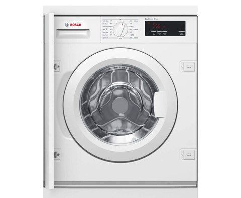 Integrated Washer Machine In White