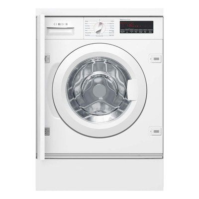 Built In Washing Machine With Hinged Panel
