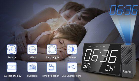 Best Projection Alarm Clocks For Uk