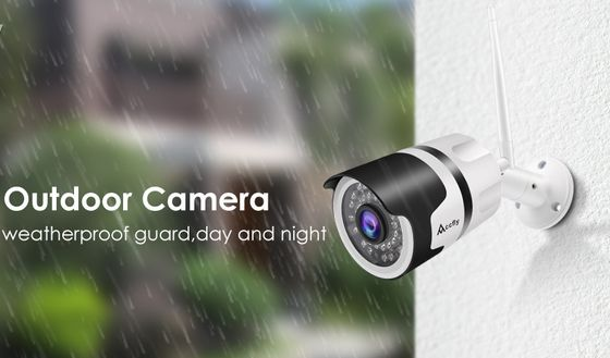 HD Outdoor WiFi Camera In White