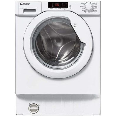 Washing Machine With Big Settings Dial