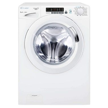 Washing Machine With White Dial