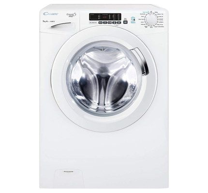 Washing Machine In White