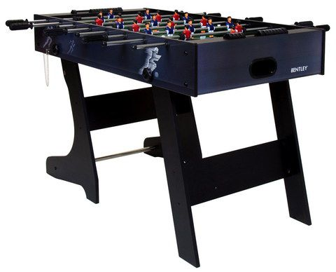 Fold Football Table In Black Finish