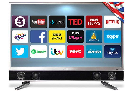LED TV With Slim Polished Edge