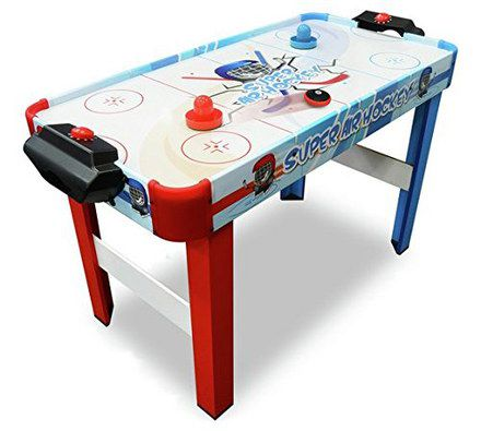 Ice Hockey Table With Red, Blue Legs