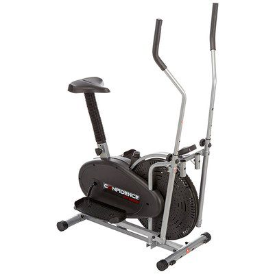Home Cross Trainer Elliptical Bike With Black Seat