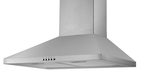 Cooker Hood In Polished Steel