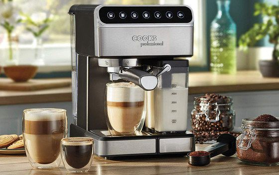 Espresso Machine With Clear Milk Tank