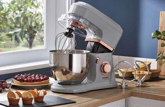 Cake Stand Mixer With Steel Bowl