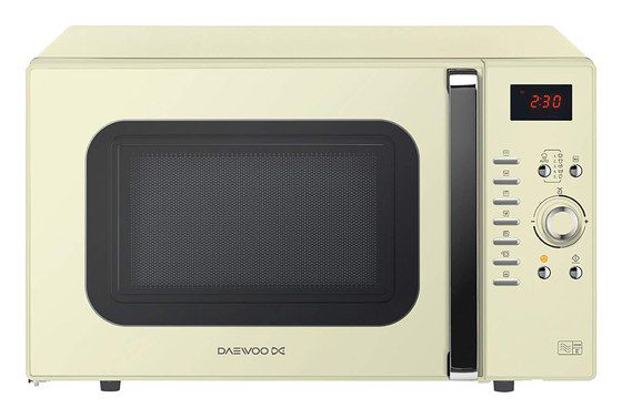 Electric Microwave Combi Oven In Cream Finish