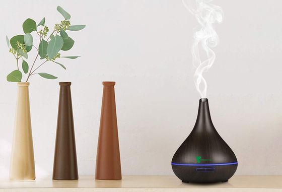Oil Mist Diffuser In Black Wood