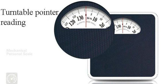 Body Weight Scale With Red Pointer