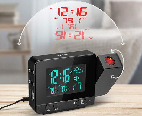 Best Projection Alarm Clocks For Uk Time On Wall Or Ceiling