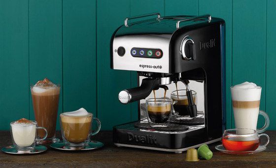 Coffee Machine With Square Black Base