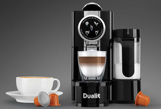 Espresso Coffee Maker With Black Exterior