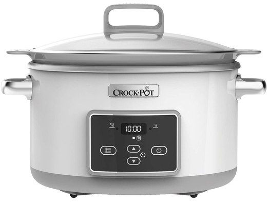 Crock Pot Slow Cooker With 2 Side Grips