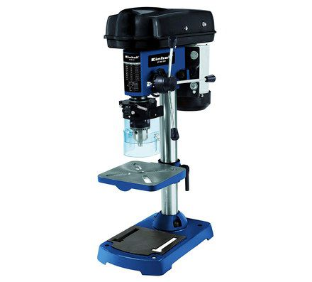 Vertical Drill Press In Dark Blue