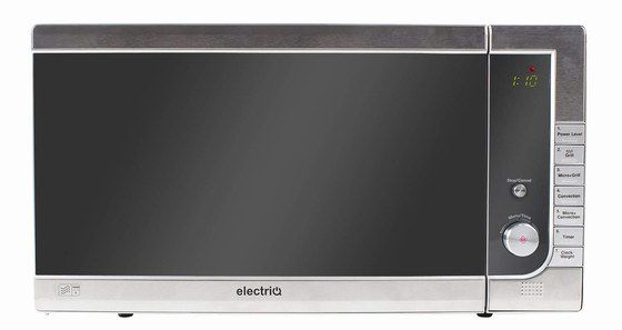 Combi Oven Microwave In Silver Finish