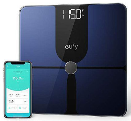 Body Fat Scale With White On Black LED