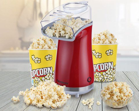 Hot Air Popcorn Maker In Retro Red