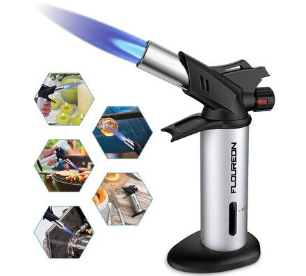 Butane Catering Blowtorch With Base Stand