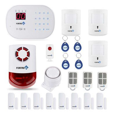 Home Alarm DIY Kit With Red Strobe
