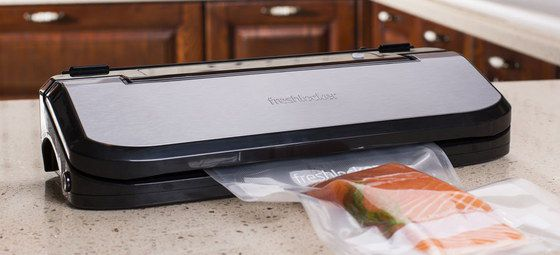 Vacuum Sealer With Smooth Steel Top