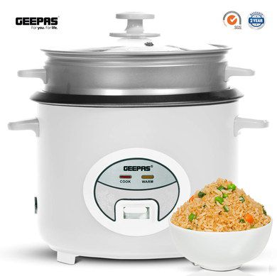 Steam Rice Machine With 2 Side Grips