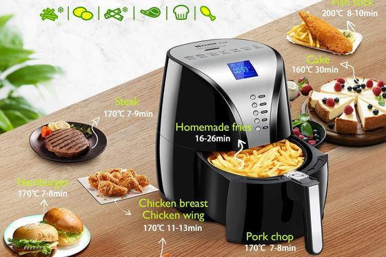 Air Fryer For Chips With Blue LCD