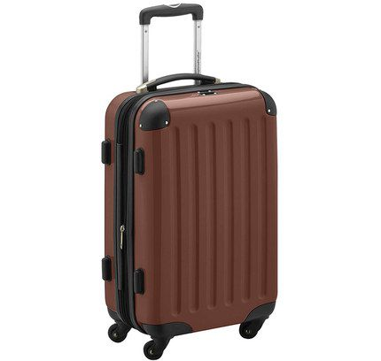 Plane Hand Luggage With Brown Exterior