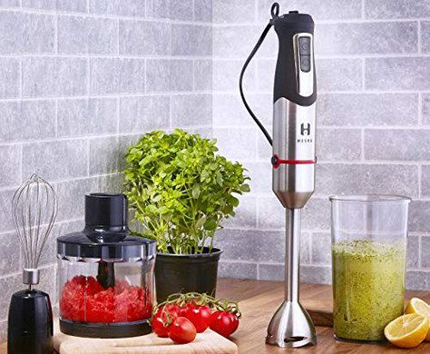 Hand Chopper Blender With Steel Finish