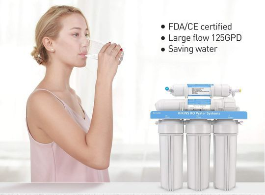 Tap Water Purifier In Blue And White
