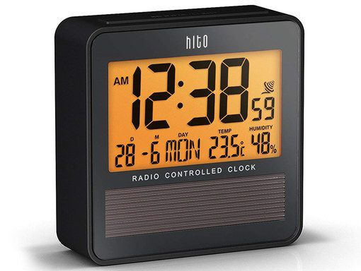 Atomic Precision Clock With Square LCD