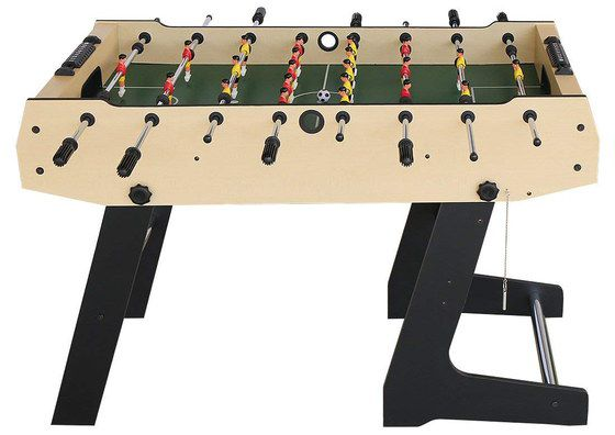 Collapsing Football Table With Red Players