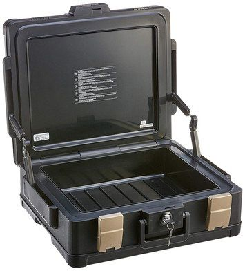 Fireproof Waterproof Safe With Latches And Key