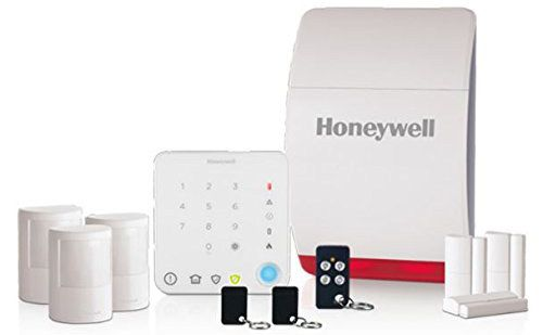 Home Security System With White Panel