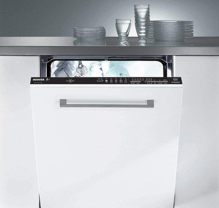 Integrated 13 Place Settings White Dishwasher