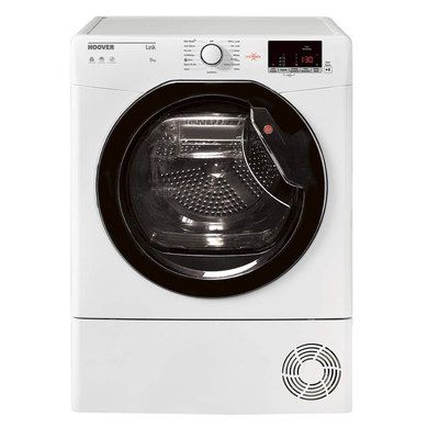 Condenser Dryer With Black LCD Settings