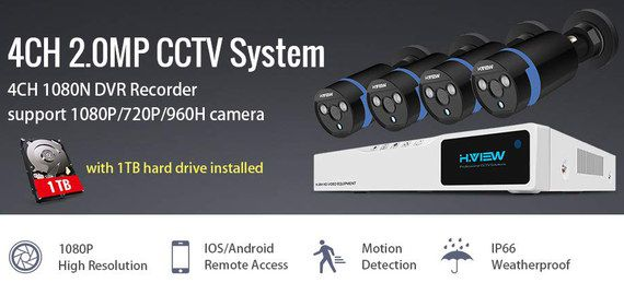 Best HD CCTV Camera Systems For UK Home & Business Security