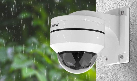 PTZ IP Camera In Dome Style
