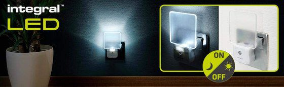 Sensor Light On Wall At Night