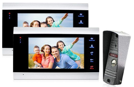 Video Door Entry System With Wide Screen
