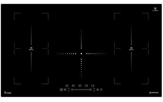Ceramic Induction Hob With Glass