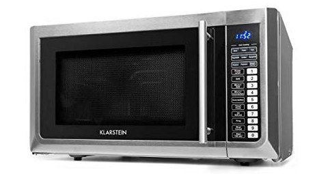 Steel Convection Microwave With Blue LED