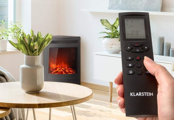 Log Burner Effect Fire With Remote Control
